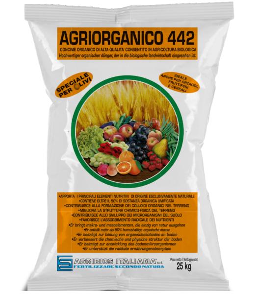 Concime organico Agriorganico 25kg - Agribios