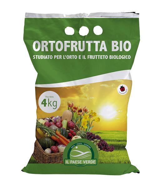 Concime per orto e frutteto Ortofrutta Bio 4kg - Agribios